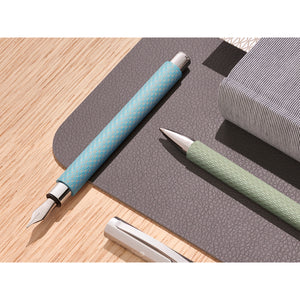 Ambition OpArt Fountain Pen, M - Sky Blue - #147000