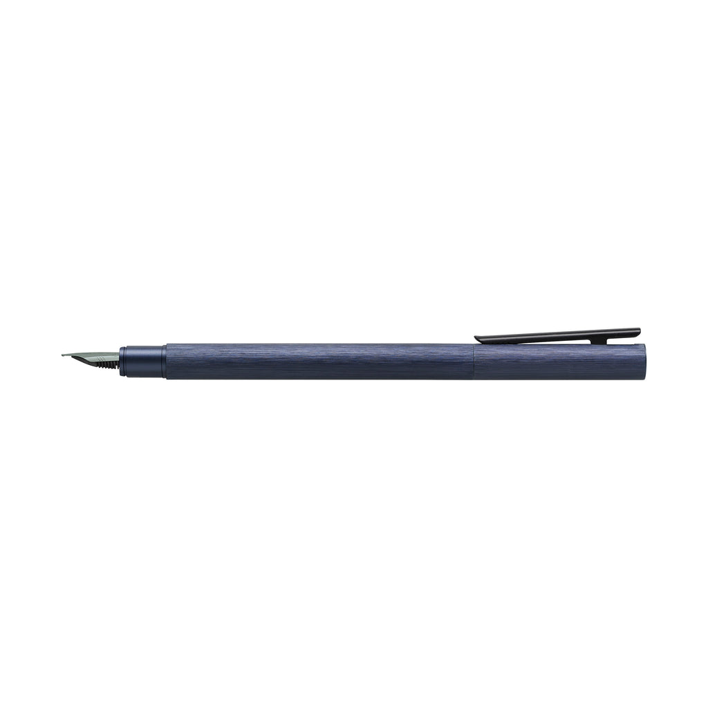 NEO Slim Fountain Pen, Aluminum Dark Blue - Extra Fine - #146162