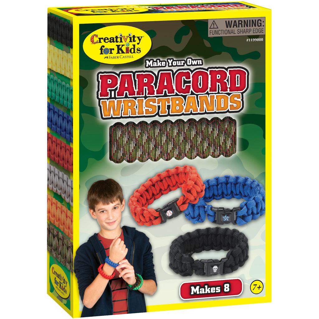 Make Your Own Paracord Wristbands - #1199000