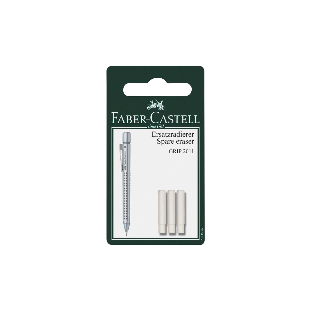 Eraser Refills for Grip 2010/2011 Pencils - 3 pack - #131597