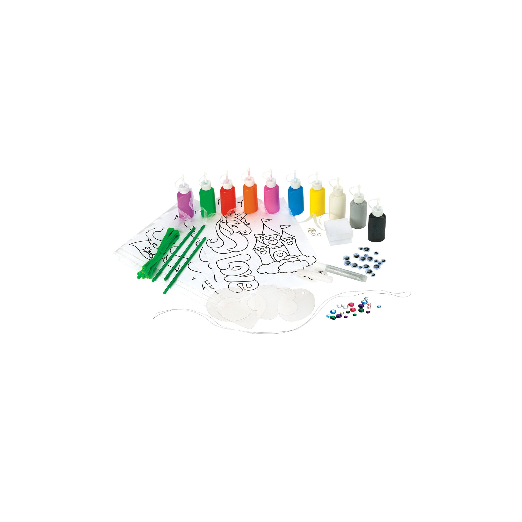 Sparkling 3d Paint Activity Kit 1941000 Faber Castell Usa