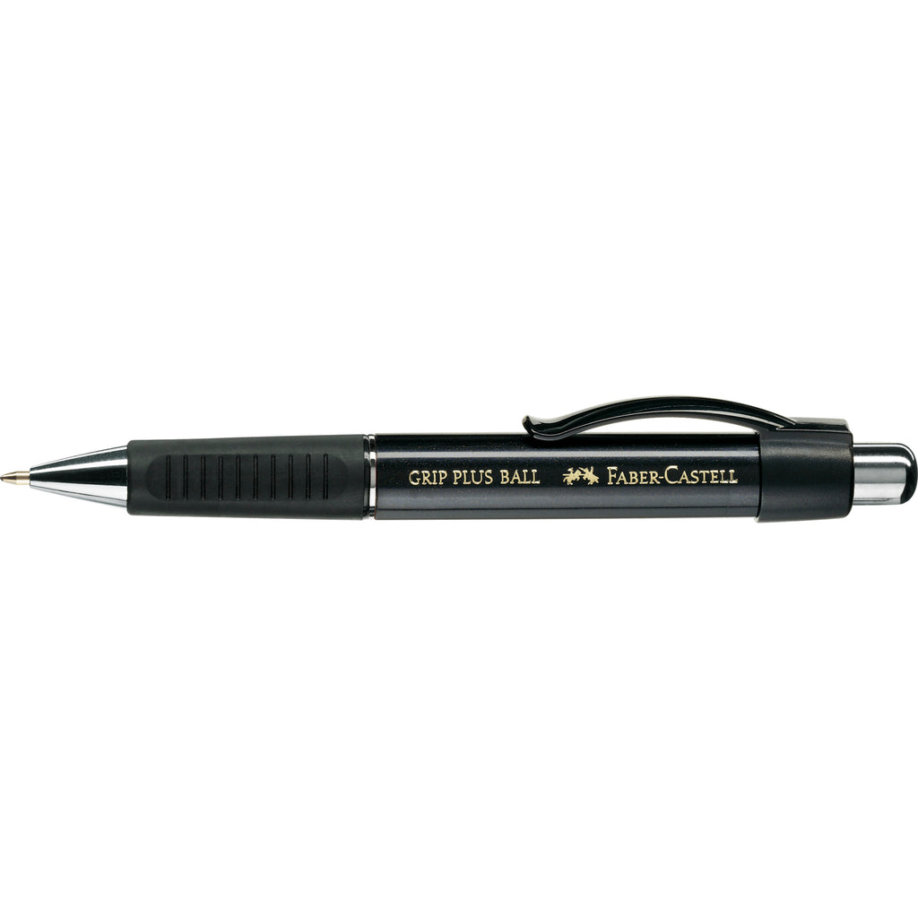Grip Plus Ballpoint Pen - Metallic Black - #140733