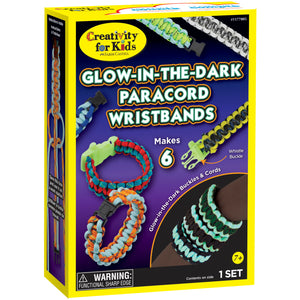 Glow-in-the-Dark Paracord Wristbands - #1177005