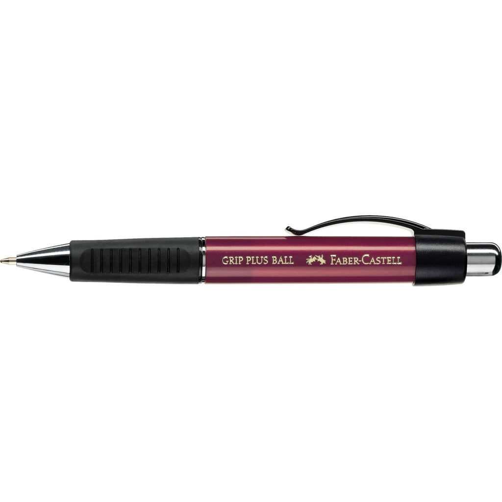 Grip Plus Ballpoint Pen - Metallic Red - #140731