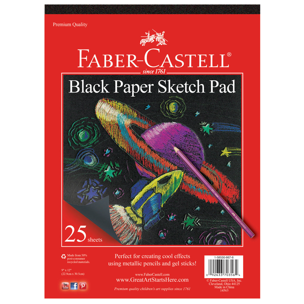 Black Paper Sketch Pad - #14563