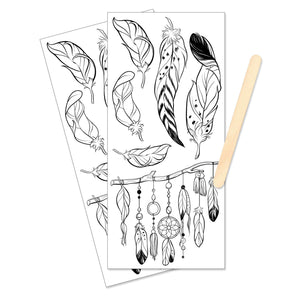 Mixed Media Transfers - Feathers - #770752