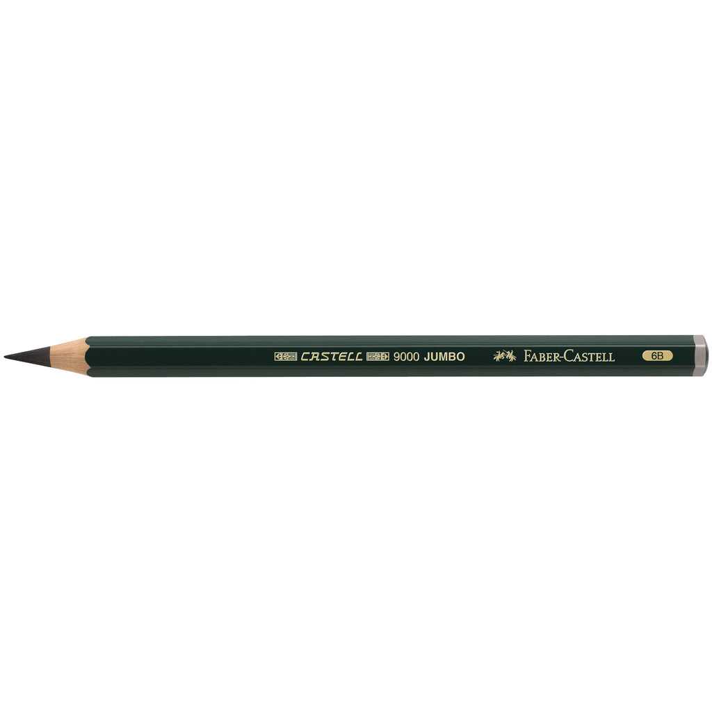 Castell® 9000 Jumbo Graphite pencil - 6B - #119306