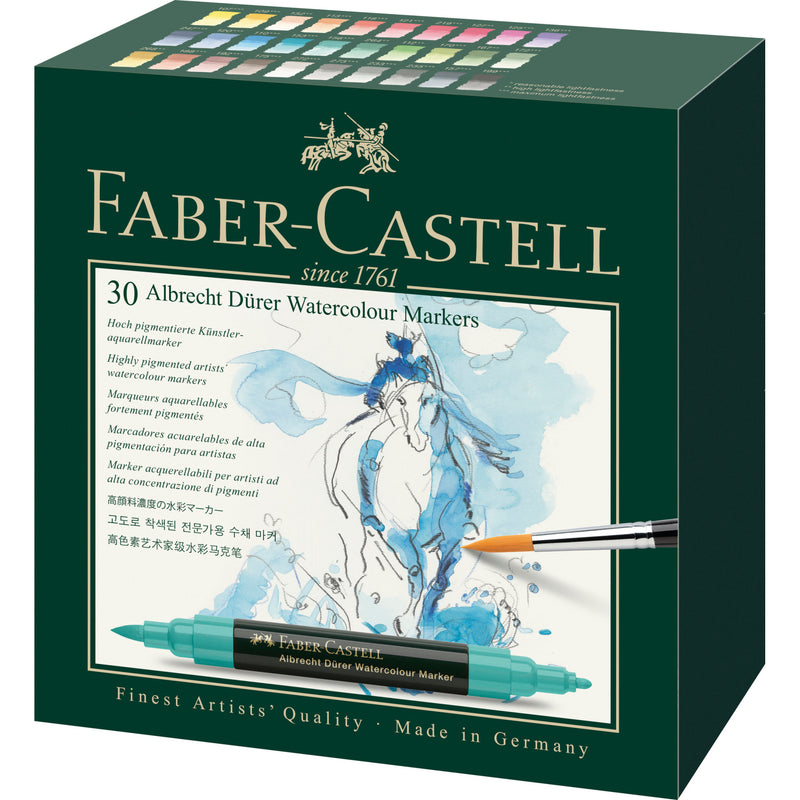 Albrecht Dürer® Watercolor Markers - Gift Box of 30 - #160330