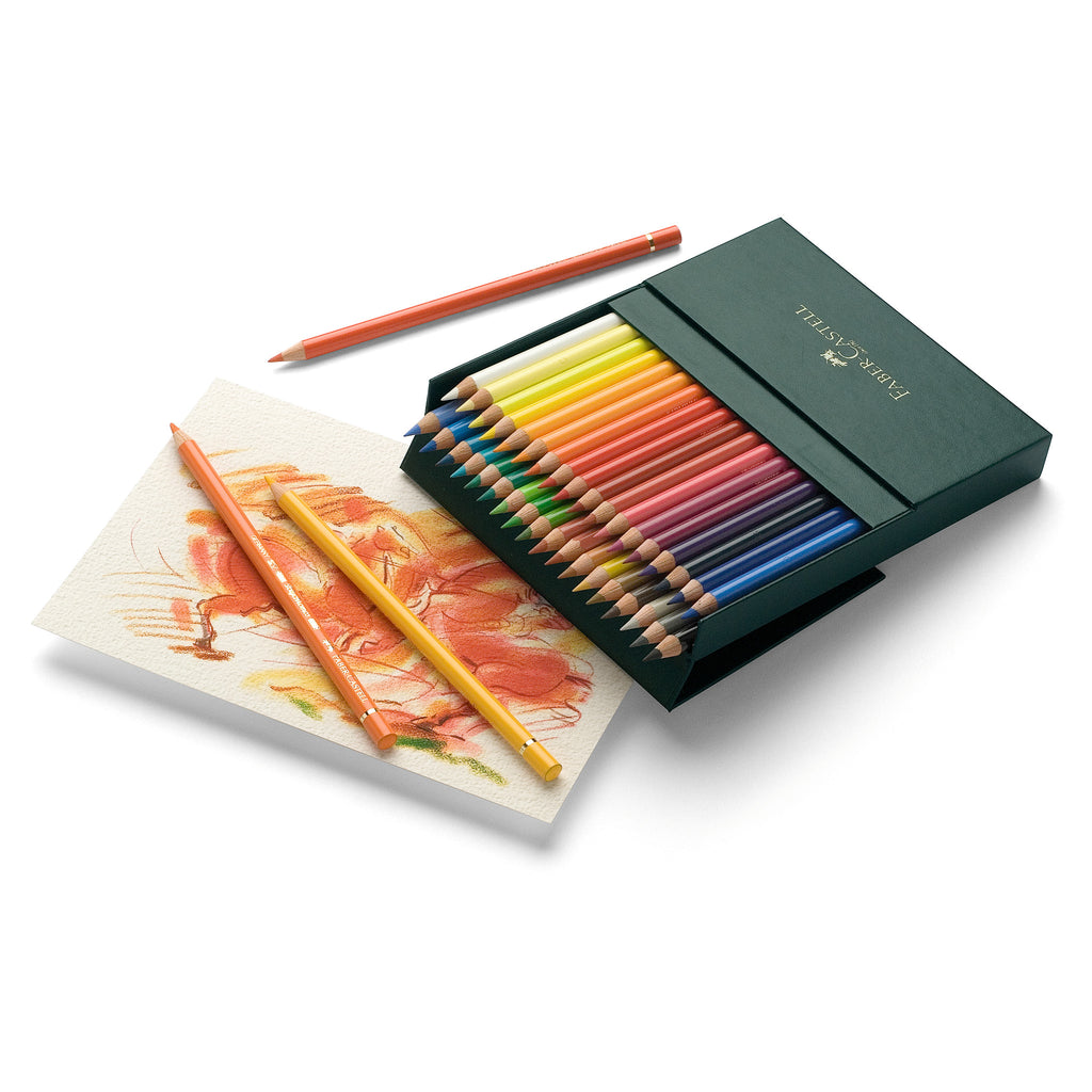 Polychromos® Artists' Color Pencils - Gift Box of 36