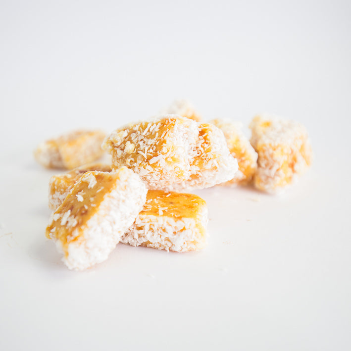 Apricot and Coconut Slice
