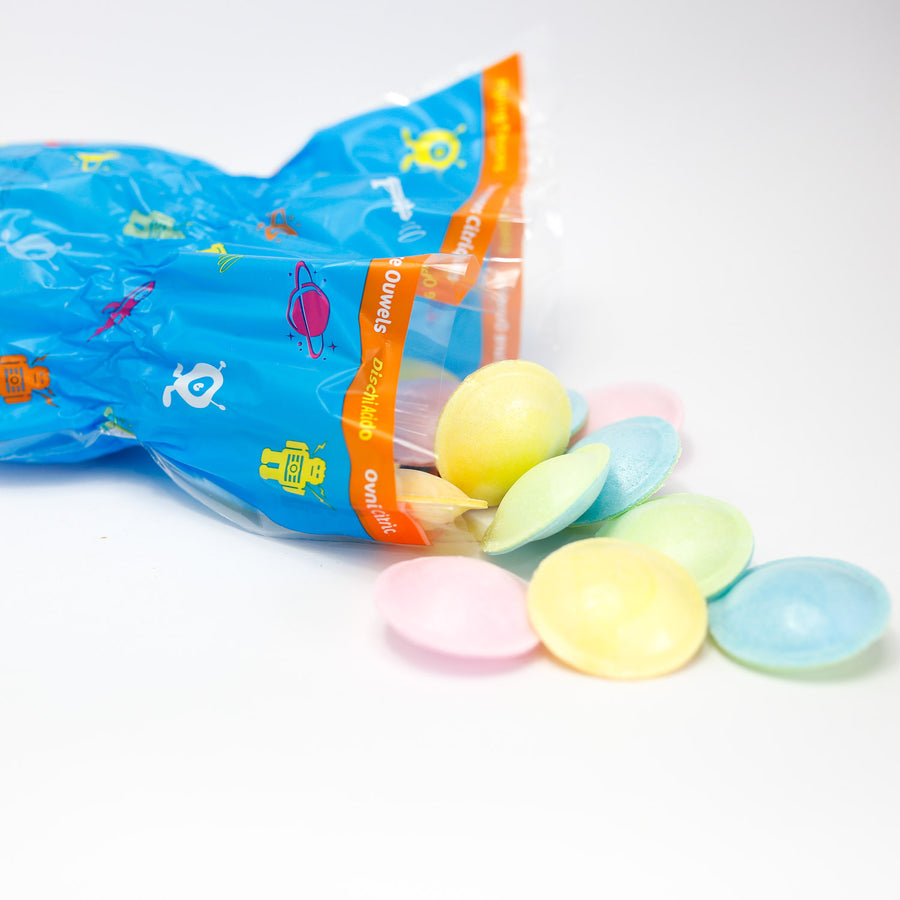 Flying Saucers Cone Bags 55g