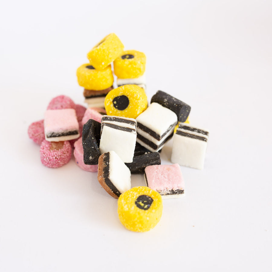 Licorice Allsorts 100g English