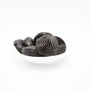 Licorice wheels 100g