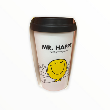 Mr Men Travel Mug Happy