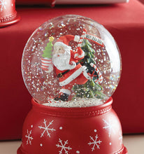 Load image into Gallery viewer, Snowman or Santa Snowglobe