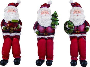 Santa Shelf Sitter Figurines