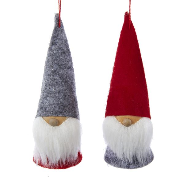 Felt Dwarf Gnome Ornaments
