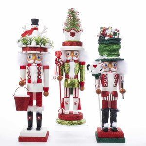 Nutcracker - Snowman, Christmas Tree or Santa Sack Hat