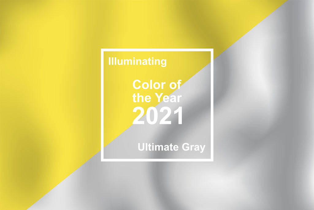 Pantone Presents Colour of the Year 2021: Illuminating and Ultimate Gray