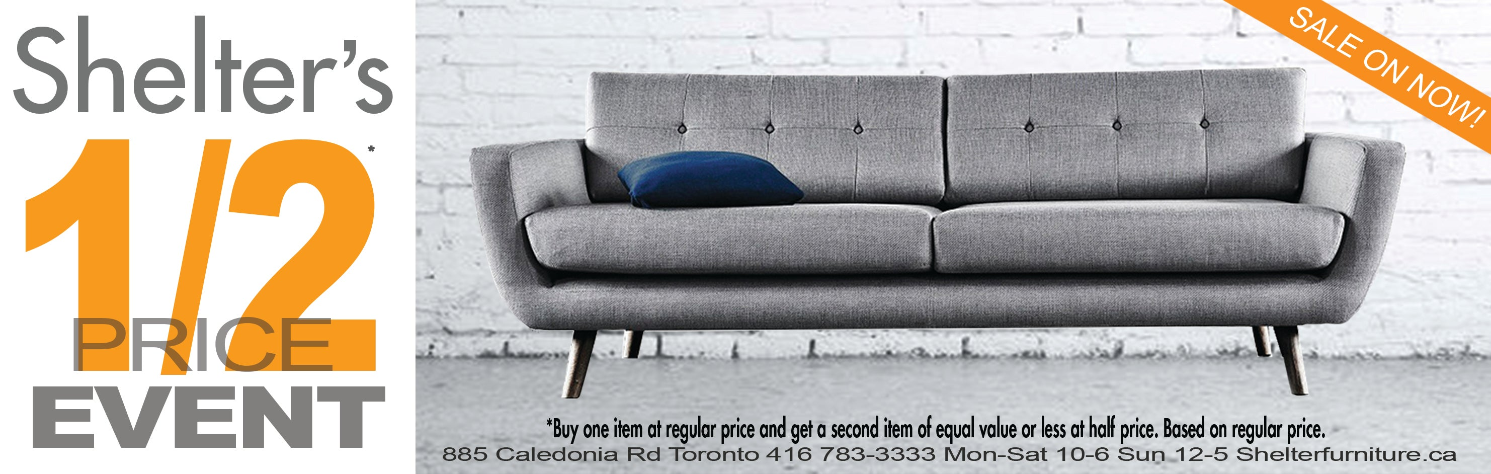Shelter Furniture · 1 2 Price Event