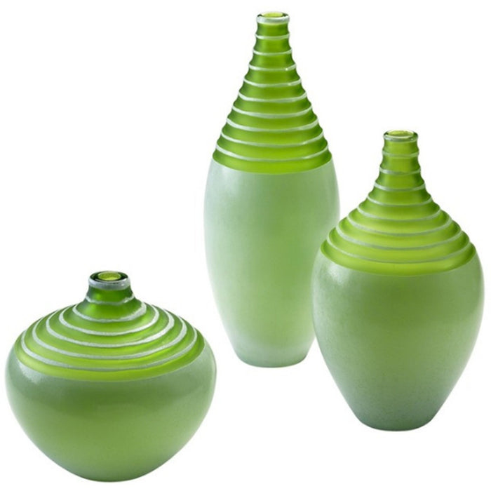 Green Meadow Vase