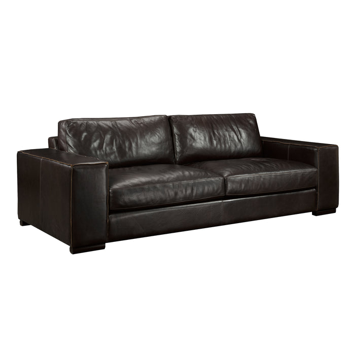 Donato Leather Sofa