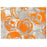 Jupiter Area Rug - Orange & Grey
