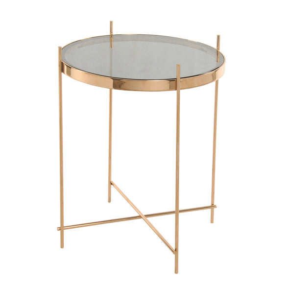 Tremain End Table - Rose Gold