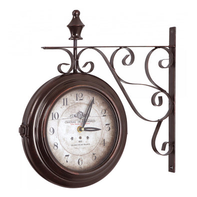 Chateau Iron Wall Clock
