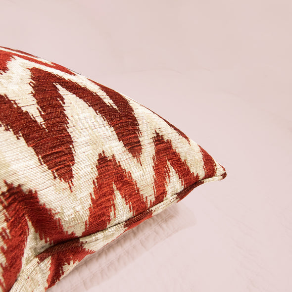 Binetti Crimson Pillow