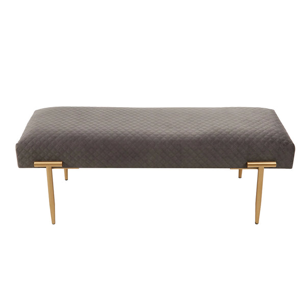 Clancy Quilted Bench