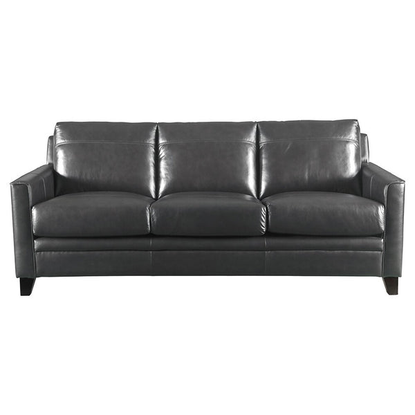 Fleming Leather Sofa