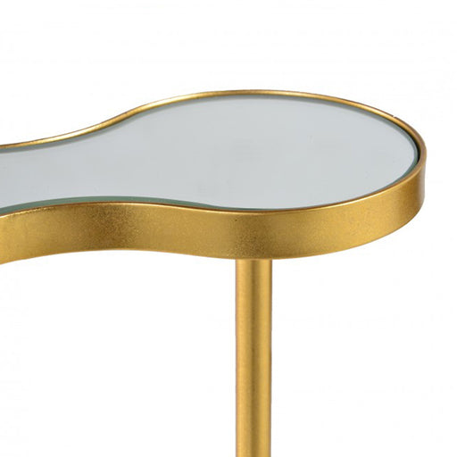 France Mirror Side Table