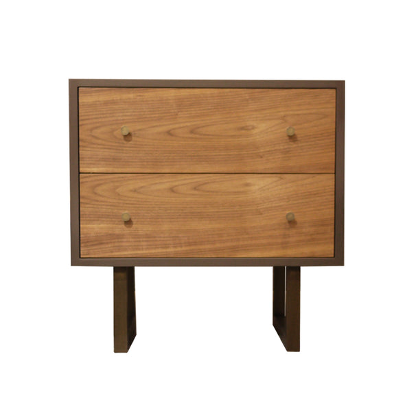 Franco 2 Drawer Nightstand
