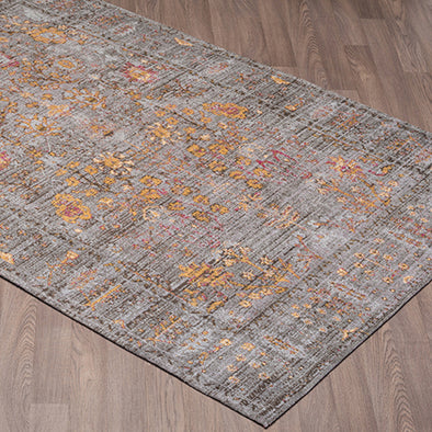 Glimmer Area Rug Grey Gold