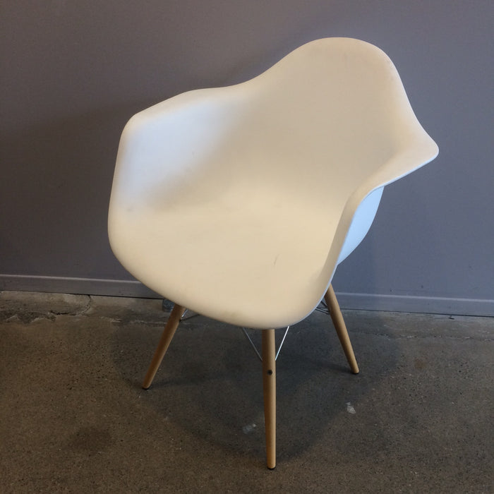 Charles Chair W/ White Arms