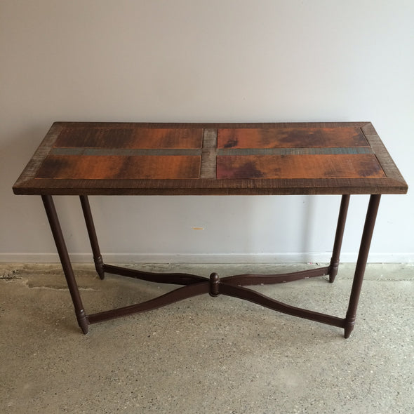 Copper Edge Sofa Table
