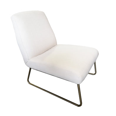 Kore-Q Armless White Chair