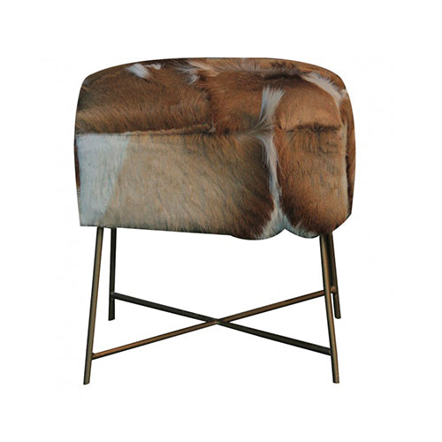 Nevada Cowhide Stool