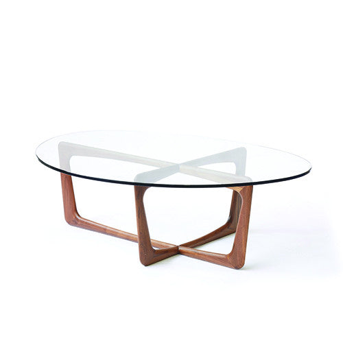 Vlad Coffee Table Solid Walnut