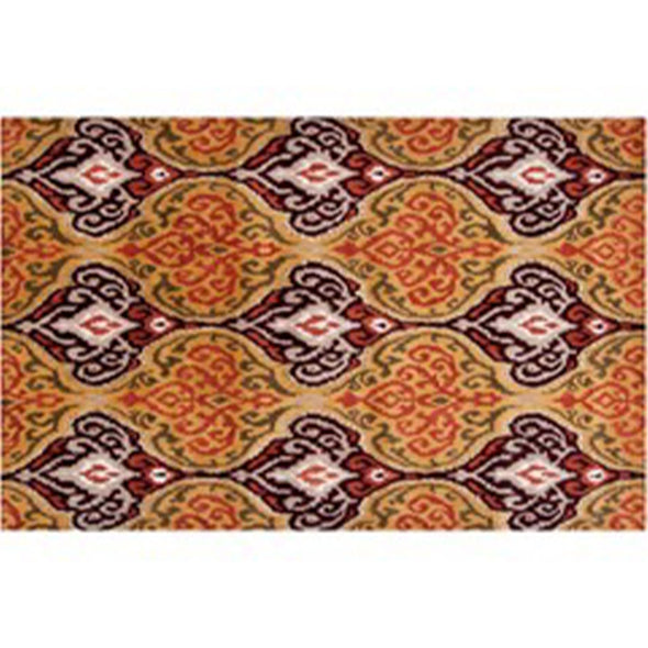 Kelpie Area Rug Ornate Orange