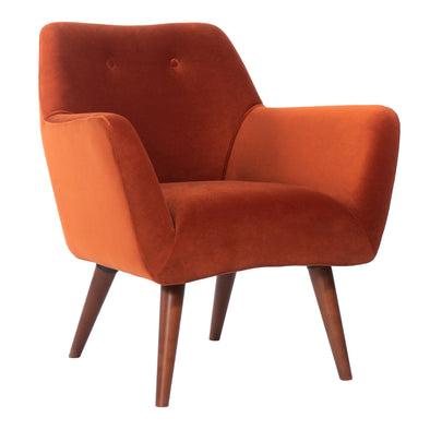 Kaspar Velvet Rust Chair