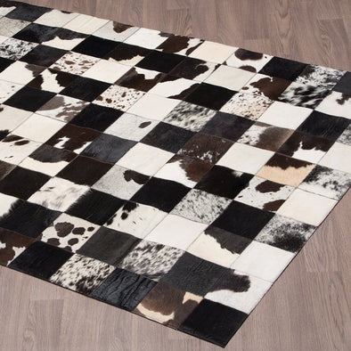Pasture Area Rug Black & White