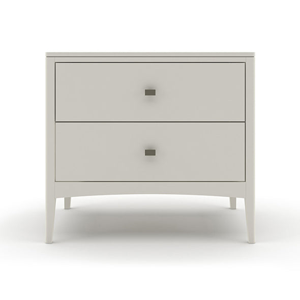 Sarasota 2 Drawer Wide Nightstand