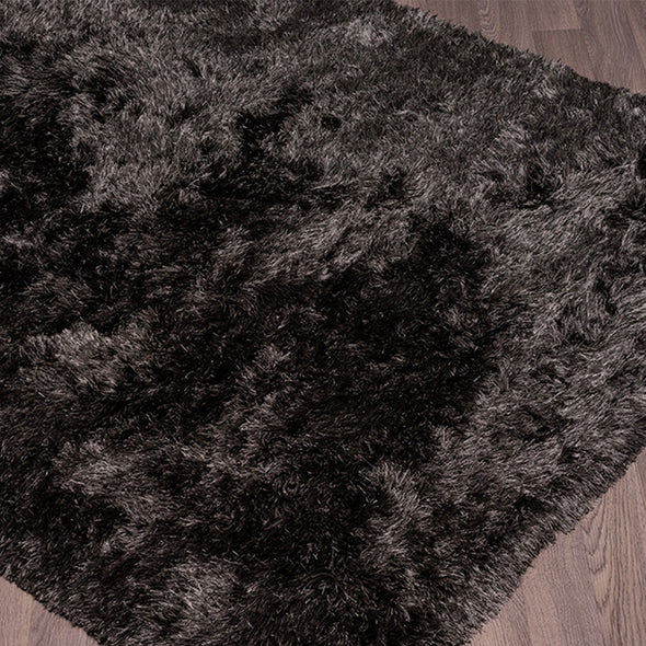 Swift Shag Area Rug - Dark Grey