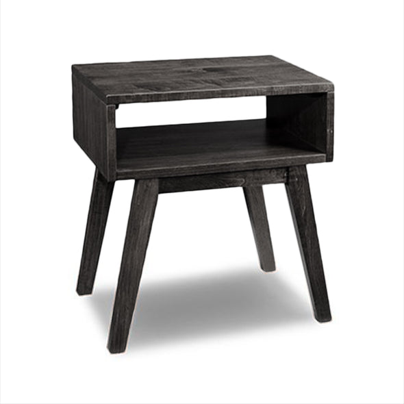 Trevor Open Nightstand- Maple Peppercorn