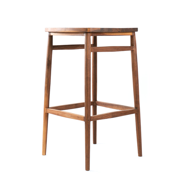 Twist Backless Bar Stool