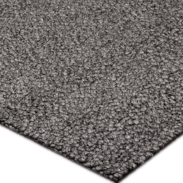 Elegant Area Rug / Pebbles Black