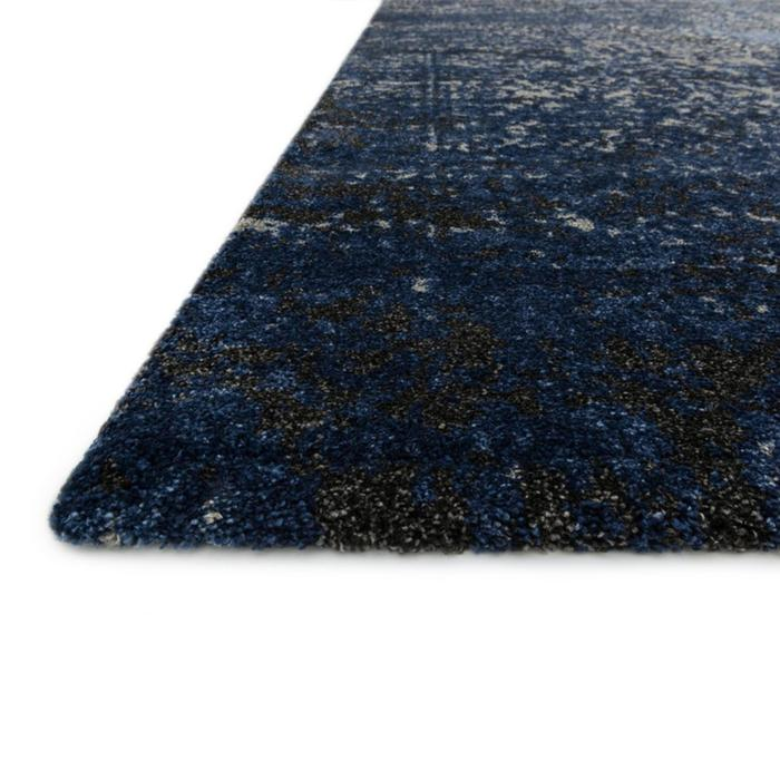 Viera Grey Navy Area Rug