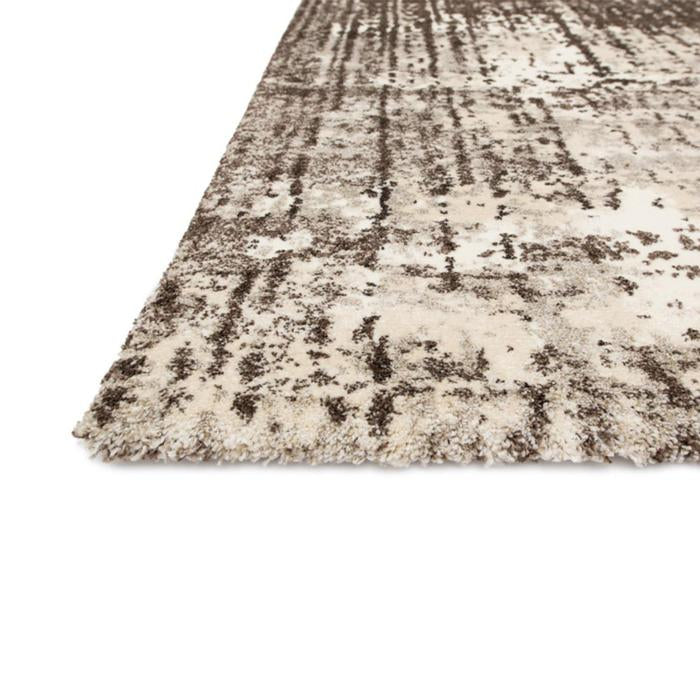 Vroom Ivory Brown Area Rug